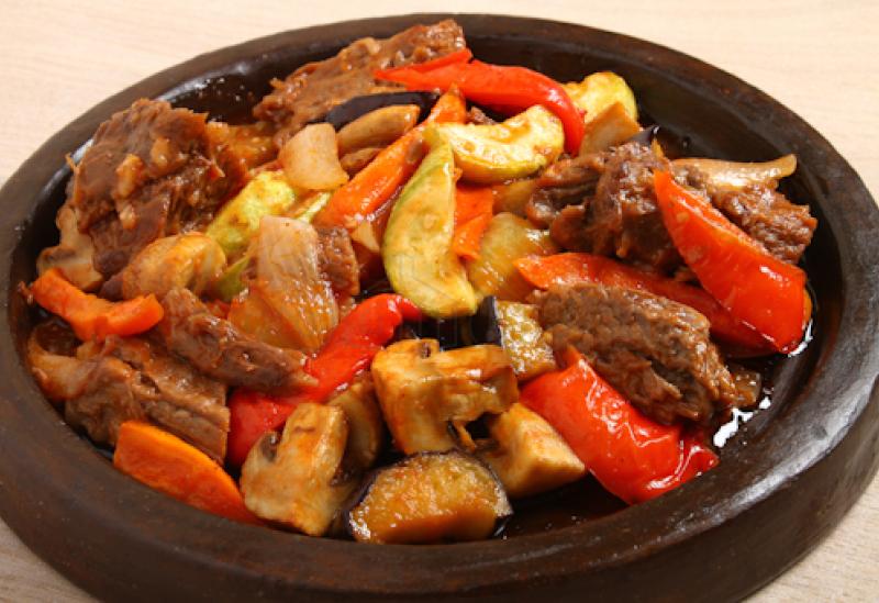 Баранина тушеная с овощами фото рецепт