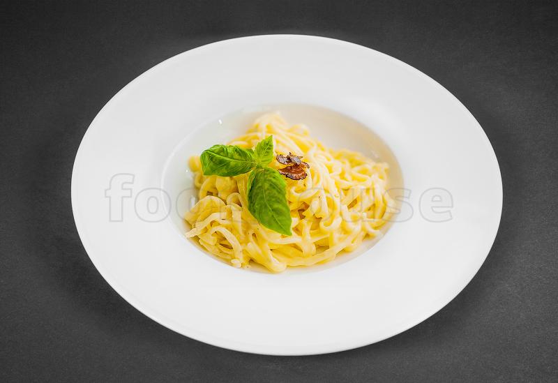Паста с шампиньонами в сливочном соусе рецепт с пошагово