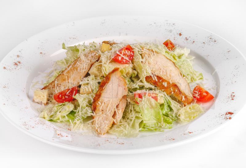 Рецепт салат цезарь с куриным филе
