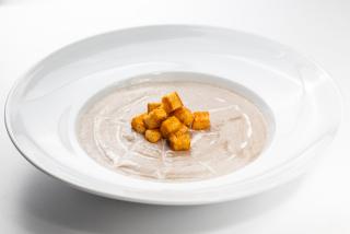 Грибной суп крем