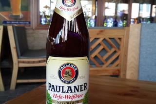 """Paulaner"" unfiltered light"