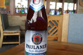 """""""Paulaner"""" unfiltered non-alcoholic"""