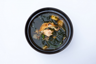 Unagi miso soup
