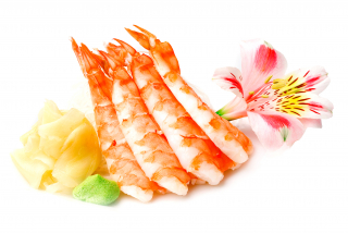 Sashimi tiger shrimp