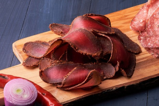 Cured beef spicy meat