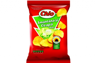 Chio (chips sour cream with onion)