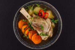 Gagauzian soup «Shurpa»