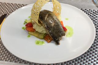 Dorada with risotto