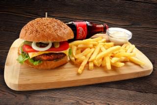 Cheeseburger meniu
