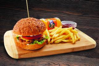 Chikenburger meniu