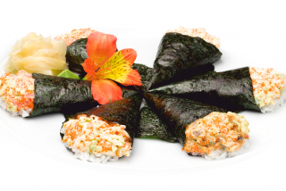 Assorted temaki