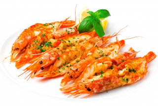 "Shrimp ""Royal"" grilled"