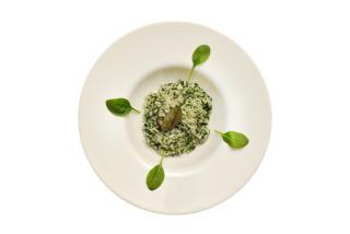 Ризотто с зелеными овощами