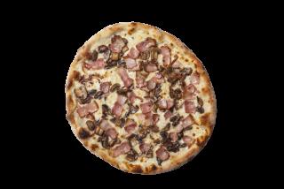 Pizza cu Ciuperci si  Bacon