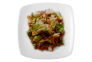 Chinese cabbage sour-spicy