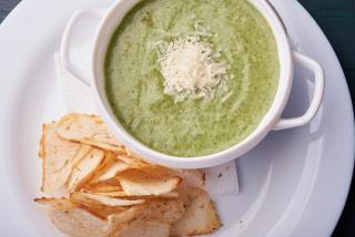 Суп-крем шпинат