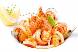 Соте из морепродуктов