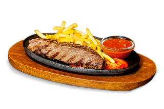 Roast beef cu sos de piper