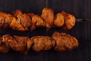 Barbecue of pork