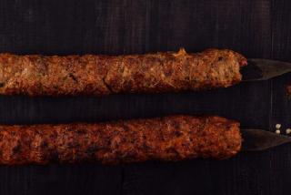 Lulia-kebab of veal
