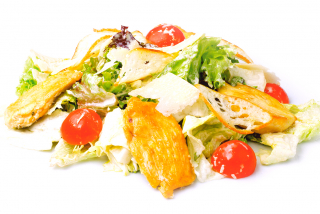 "Salad ""Caesar"" with chicken breast"
