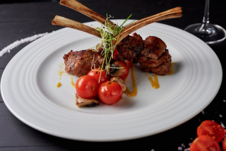 Rack of New Zealand lamb