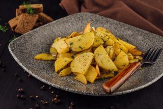 Картофель жареный «по домашнему»