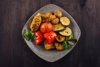 Овощи запеченные в тандыре