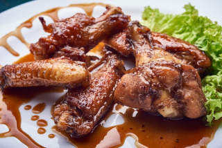 Caramelized Wings