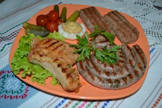 Ассорти мясное на гриле