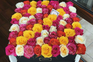 Large bouquet of roses №2