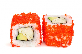 California Tobiko roll