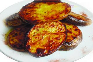 Картофель в тандыре