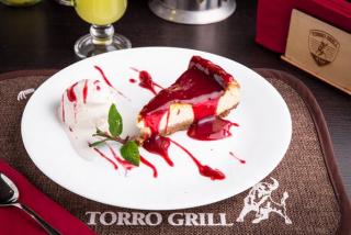 Cheesecake c ягодным желе