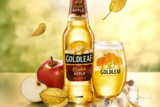 Cider gold leaf