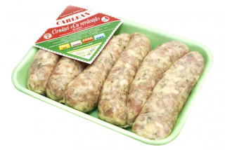 "Sausages ""greens"" (high quality)"