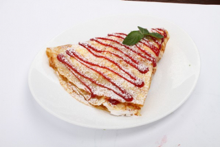 Strawberries and Cream Pancake