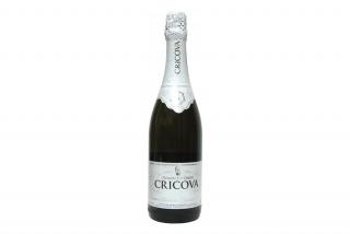 Шампанское Cricova, белое полусладкое
