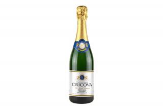 Шампанское Cricova, белое брют классичесский