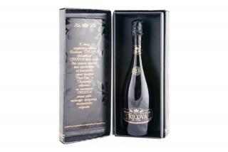 Шампанское De Lux, брют белое классическое