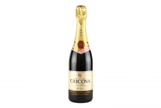 Шампанское Cricova, розовое брют