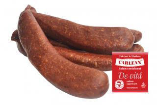 "Beef sausage half-smoked ""CARLEAN"" (high quality)"