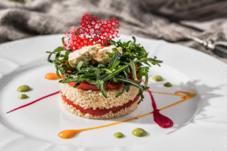Tabouli Salad with Couscous and Lime