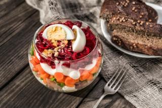 Salata in stil suba