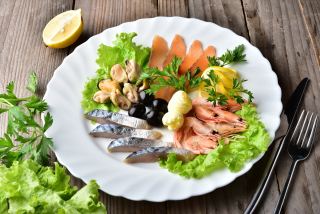 Assorted Fish and Seafood