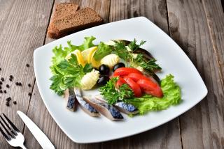 Assorted mackerel
