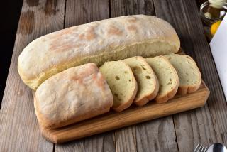 Ciabatta bread home