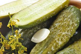 Cucumbers pickled
