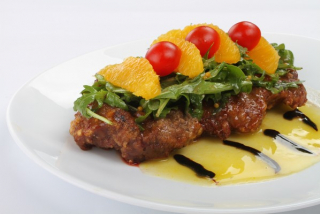 Beef Tenderloin with Orange Sauce