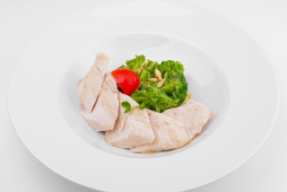Turkey fillet with broccoli